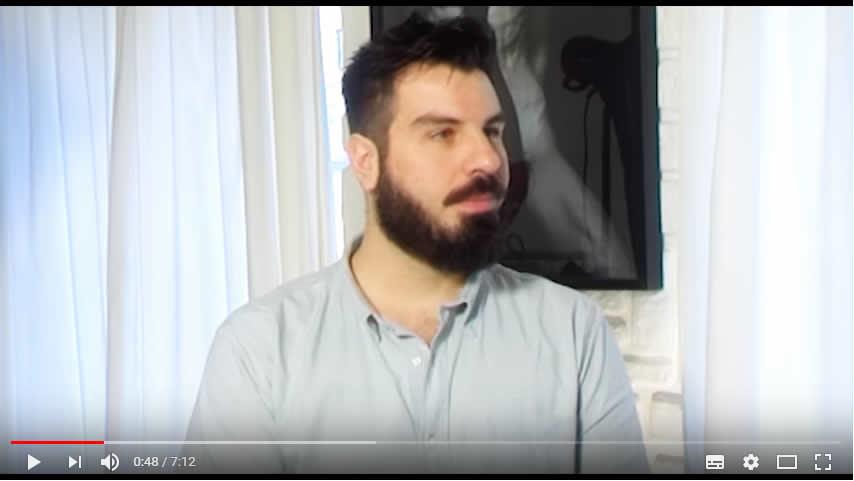 """Interview d' Errikos Andreou pour """"A mode ou à raison"""""""